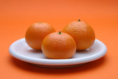 Mandarins Stock Photo