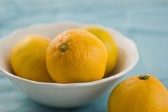 Mandarins Royalty-vrije Stock Foto's
