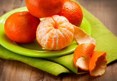 Mandarins Stock Photography