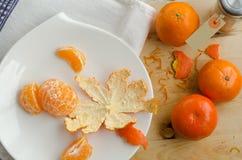 Mandarins Stock Afbeelding