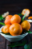The mandarins Royalty Free Stock Photo