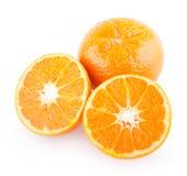 mandarins Royalty-vrije Stock Fotografie