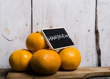mandarins Foto de Stock Royalty Free