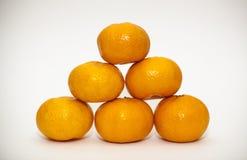 mandarins Arkivfoton