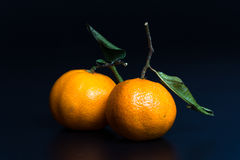 mandarins Fotos de Stock Royalty Free