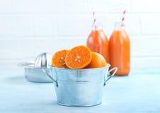 mandarins Stock Foto's