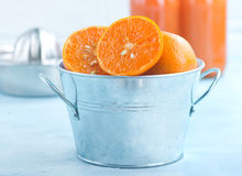 mandarins Royalty-vrije Stock Foto