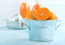 mandarins Royalty-vrije Stock Afbeelding