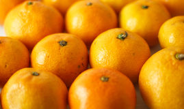 Mandarins background Stock Photography