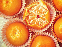 Mandarins Royalty Free Stock Images