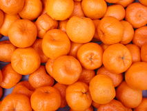 Mandarins - fruit background Stock Images