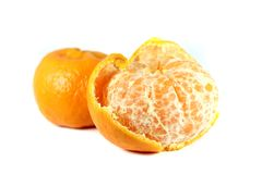 Mandarins orange Stock Photography