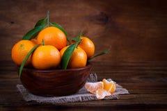 Mandarins or tangerines close up Royalty Free Stock Photo