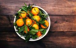Mandarins Tangerines Closeup. Fresh tangerine clementine on the Stock Photography