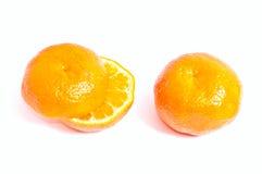 mandarins två Royaltyfria Foton