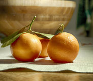 Mandarins Royalty Free Stock Photo