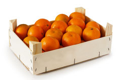 Mandarins unpeeled Stock Photos