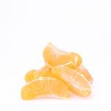 mandarinsegment fotografering för bildbyråer