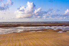 Mandarmoni plaża Obrazy Royalty Free