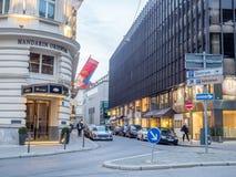 Mandaryn Orientalna hotelowa scena w Monachium Zdjęcia Royalty Free