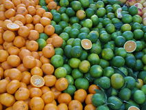 Mandaryn pomarańcze fotografia royalty free