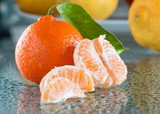 Mandaryn, zimy owoc zdjęcie stock