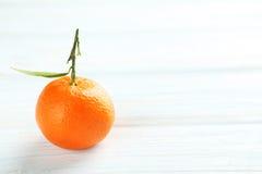 mandarynka dojrzała zdjęcie stock