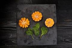 mandarynka jaskrawy Cytrus Jaskrawa owoc jest twój obraz stock