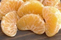 mandarynka plastry Zdjęcie Stock