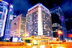 Mandarynu Hong Kong Hotelowy pięciogwiazdkowy hotel fotografia stock