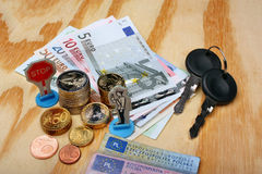 Mandate in Europe. Mandate of the penalty in Europe Royalty Free Stock Photography