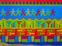 Mandawa墙壁 图库摄影