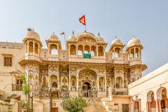 Mandawa Temple Royalty Free Stock Photo