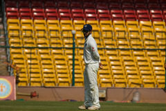 Mandeep Singh cricketer. Mandeep Singh, Rest of India fast bowler stock images