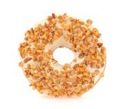 Mandel-Donut Stockfoto