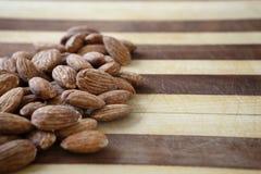 Mandel-gesunder Snack 2 Lizenzfreie Stockbilder