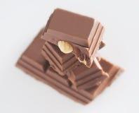 Mandel-Schokolade Lizenzfreie Stockfotos
