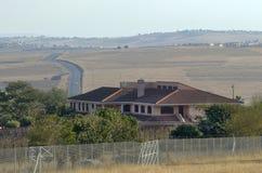Mandela hus i Qunu Arkivbilder