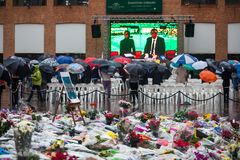Mandela memorial day Stock Image