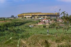 Mandela National Stadium Uganda Stock Image