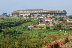 Mandela nationell stadion Uganda Arkivbild