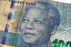 Mandela on a South african hundred rand note