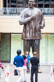 Mandela-Statue stockfotos