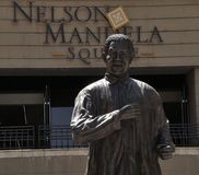 Mandela Statue Royalty Free Stock Photos