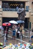 Mandela-Volkstrauertag Stockbild