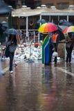 Mandela-Volkstrauertag Stockfotos