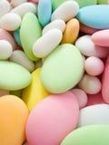 mandelar räknade socker Royaltyfri Foto