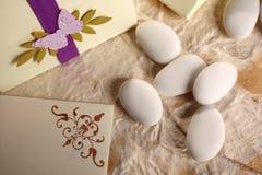mandelar sockrat bröllop Royaltyfria Bilder