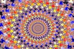 Mandelbrot vastgestelde fractal Stock Afbeeldingen