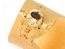 mandelcakekaffe Arkivfoto